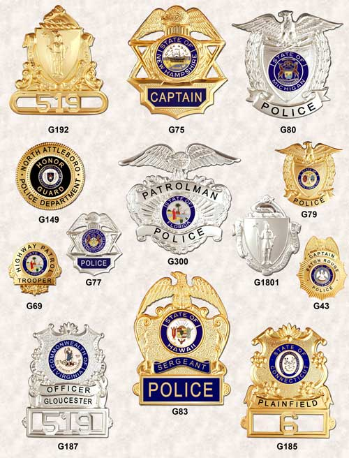 cap badges hat badges